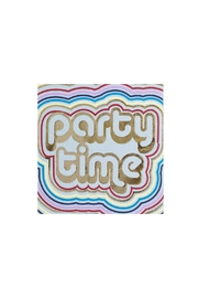 Jollity & Co Party Time Cocktail Napkins - Front cropped