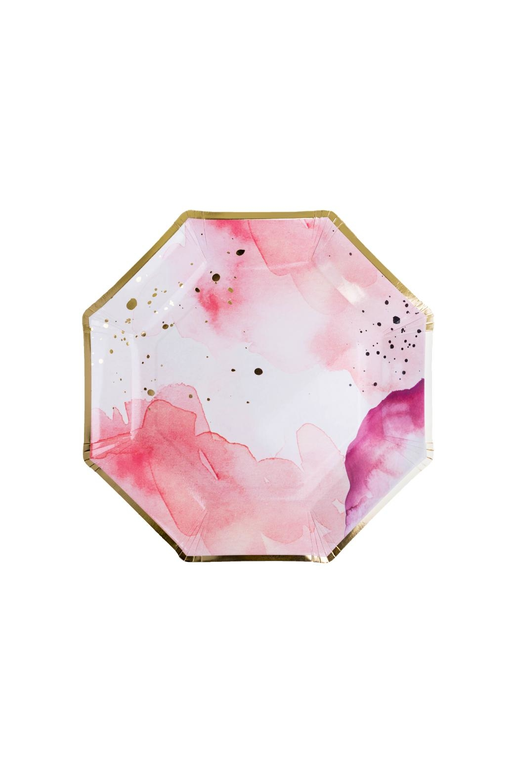 Jollity & Co Pretty In Pink Charger Plates - Main Image