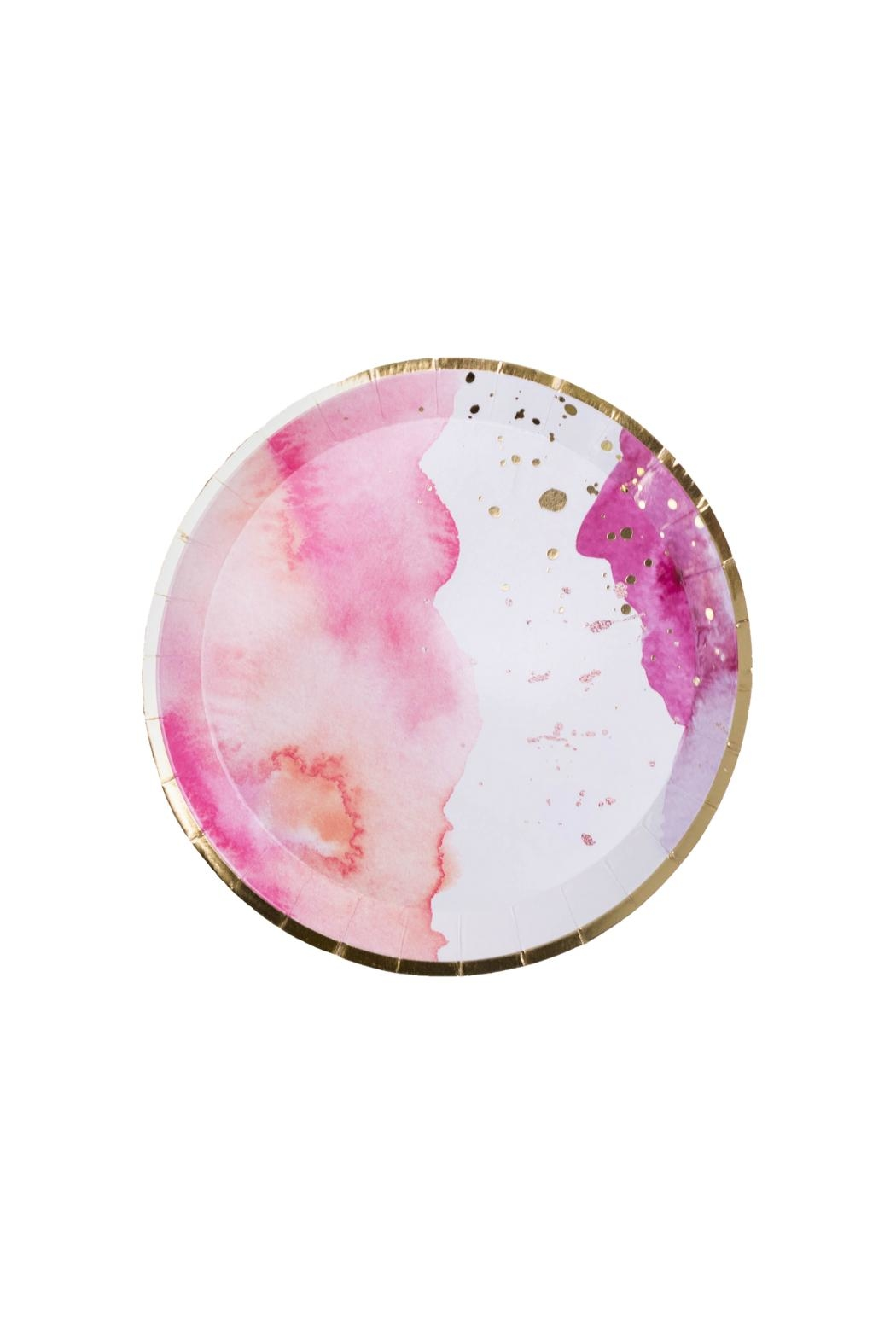 Jollity & Co Pretty In Pink Dessert Plates - Main Image