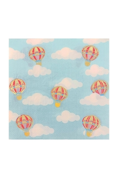Jollity & Co Up, Up, & Away Lunch Napkin - Alternate List Image