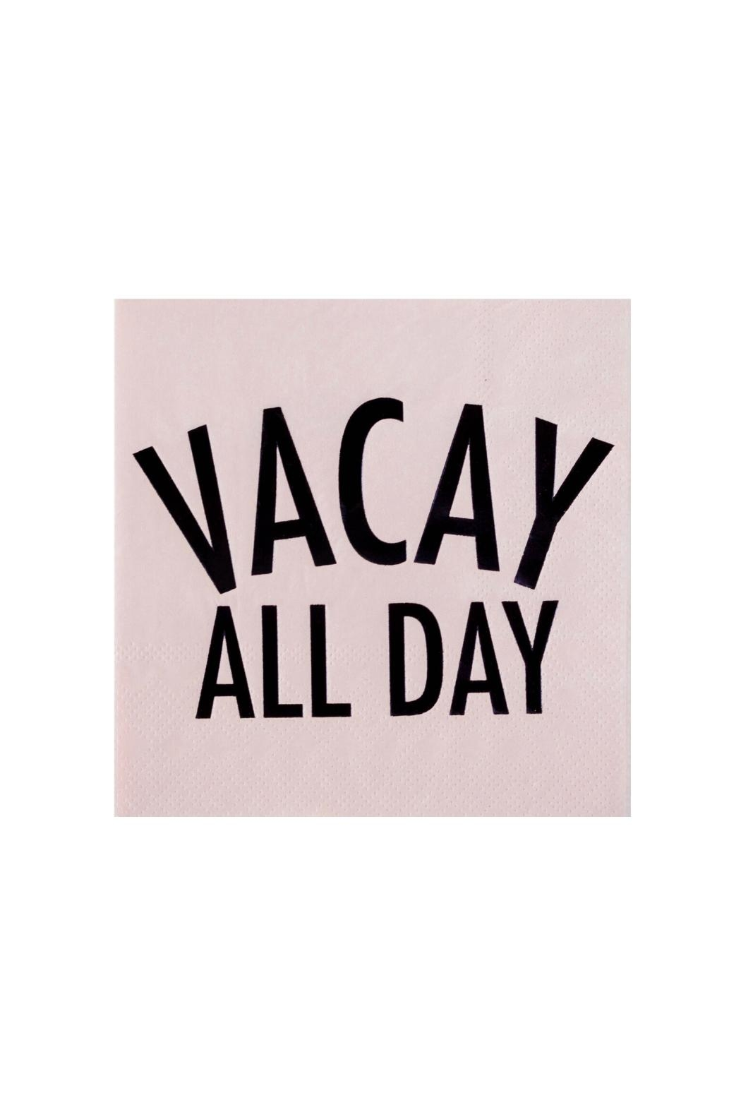 Jollity & Co Vacay All Day Cocktail Napkins - Main Image