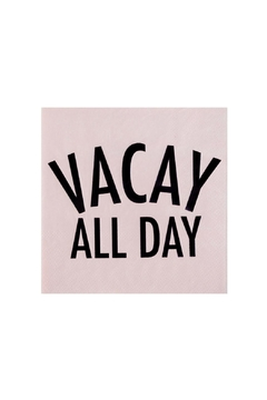 Jollity & Co Vacay All Day Cocktail Napkins - Alternate List Image