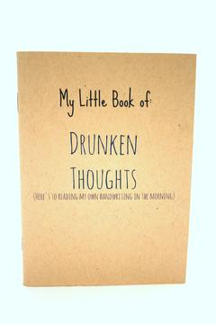 Shoptiques Product: Drunken Thoughts Notebook