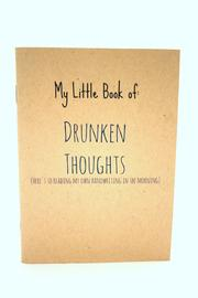Jolly Good Designs Drunken Thoughts Notebook - Product Mini Image