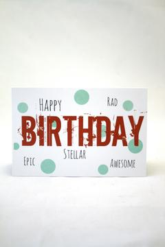 Shoptiques Product: Epic Birthday Card