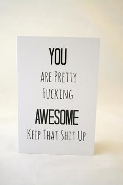 Shoptiques Product: Funny Greeting Card