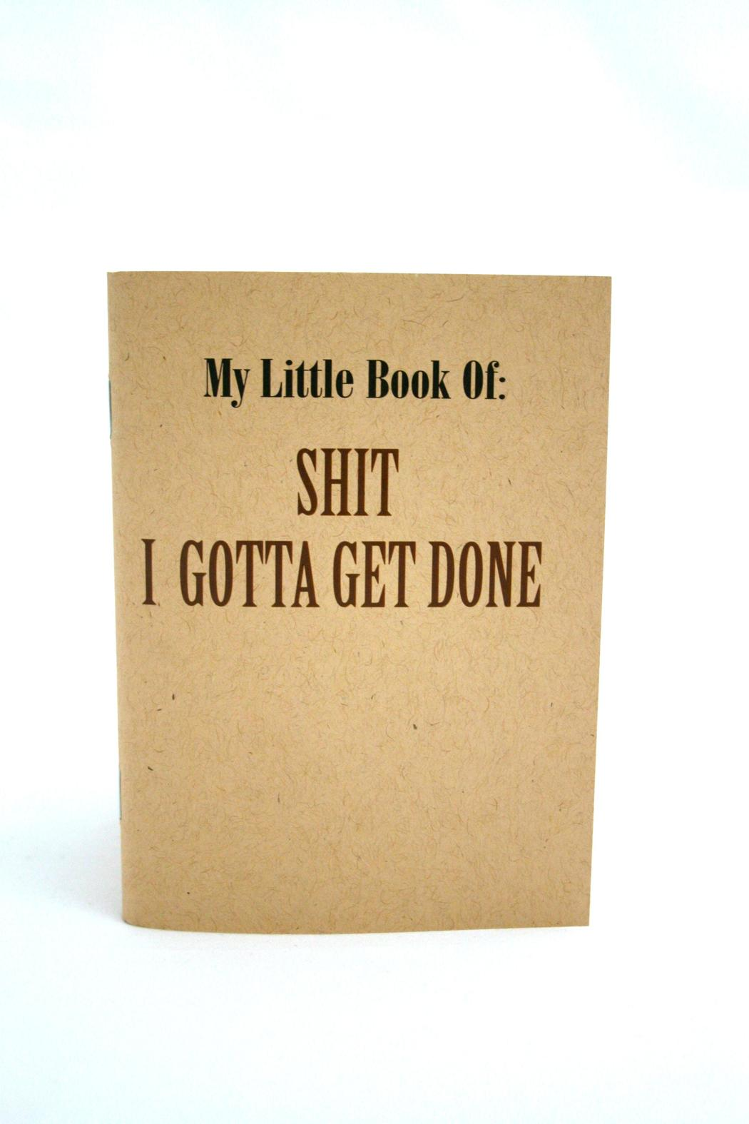 Jolly Good Designs Funny Paper Notebook - Main Image