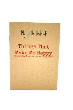 Shoptiques Product: Happy Things Notebook