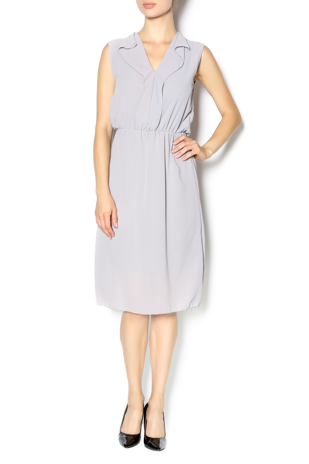 Jon anna chiffon career dress from indiana by uptown for Creer dressing
