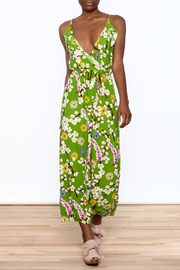 Jon & Anna Green Floral Maxi Dress - Product Mini Image