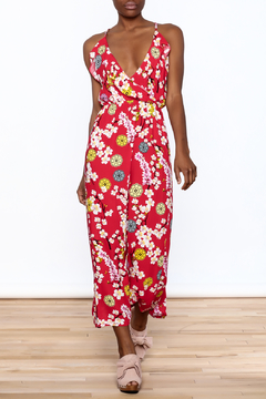 Jon & Anna Red Floral Maxi Dress - Product List Image