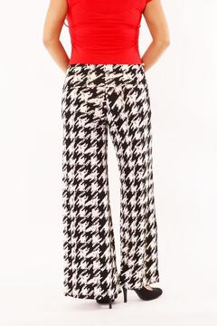 Shoptiques Product: Houndstooth Palazzo Pants