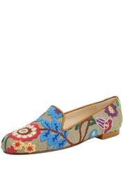 Jon Josef Gatsby Embroidered Campanilla Flat - Product Mini Image