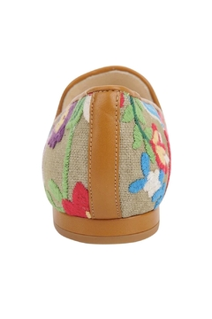 Jon Josef Gatsby Embroidered-Campanilla Flat - Alternate List Image