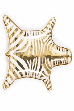 Jonathan Adler Gold Zebra Dish - Alternate List Image