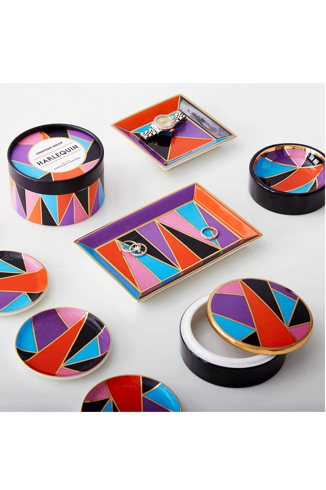 Jonathan Adler Harlequin Box - Side Cropped Image