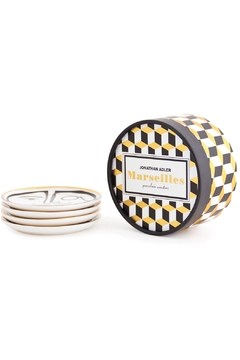 Jonathan Adler Marseilles Coaster Set - Alternate List Image