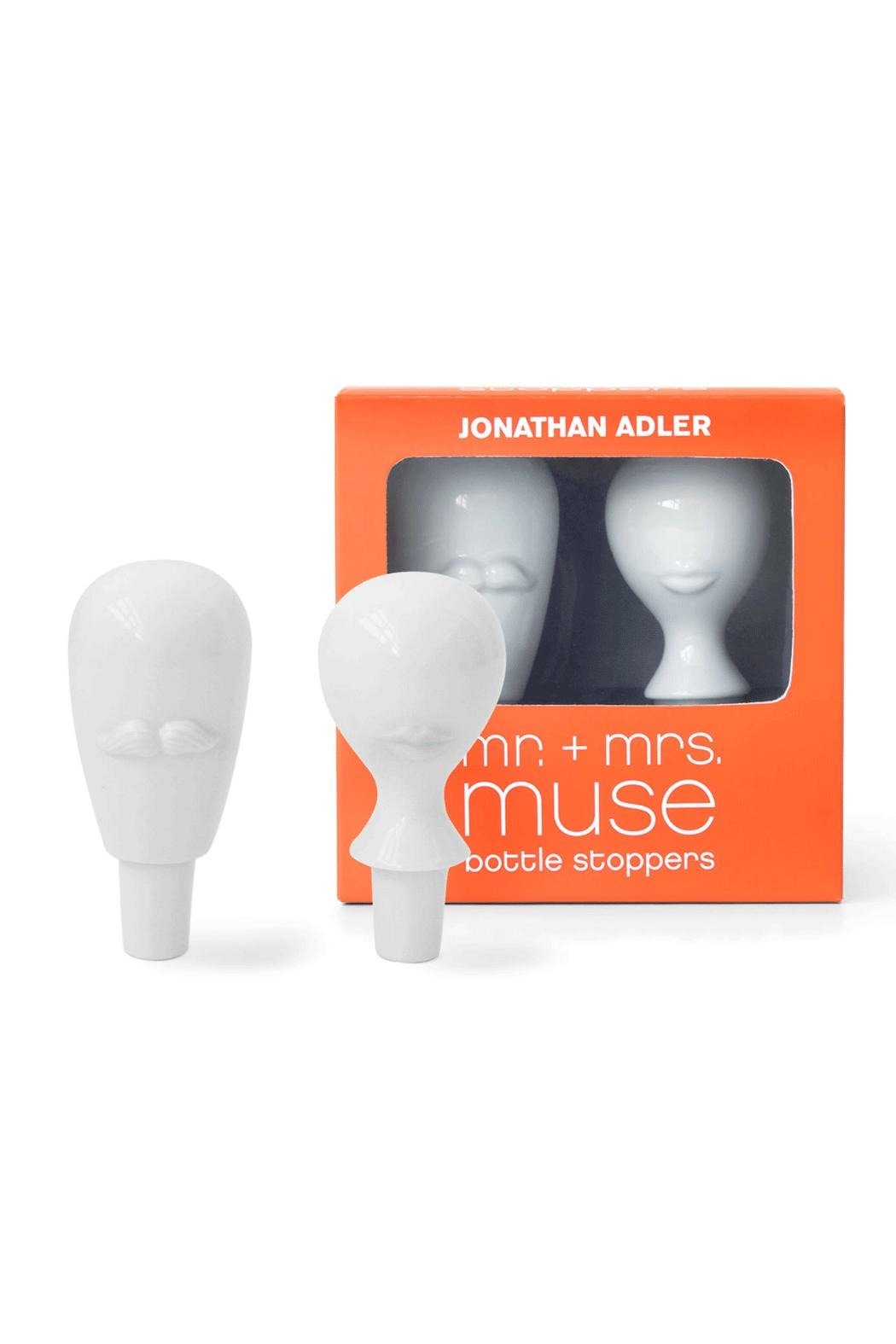 Jonathan Adler Muse Bottle Stoppers - Front Cropped Image