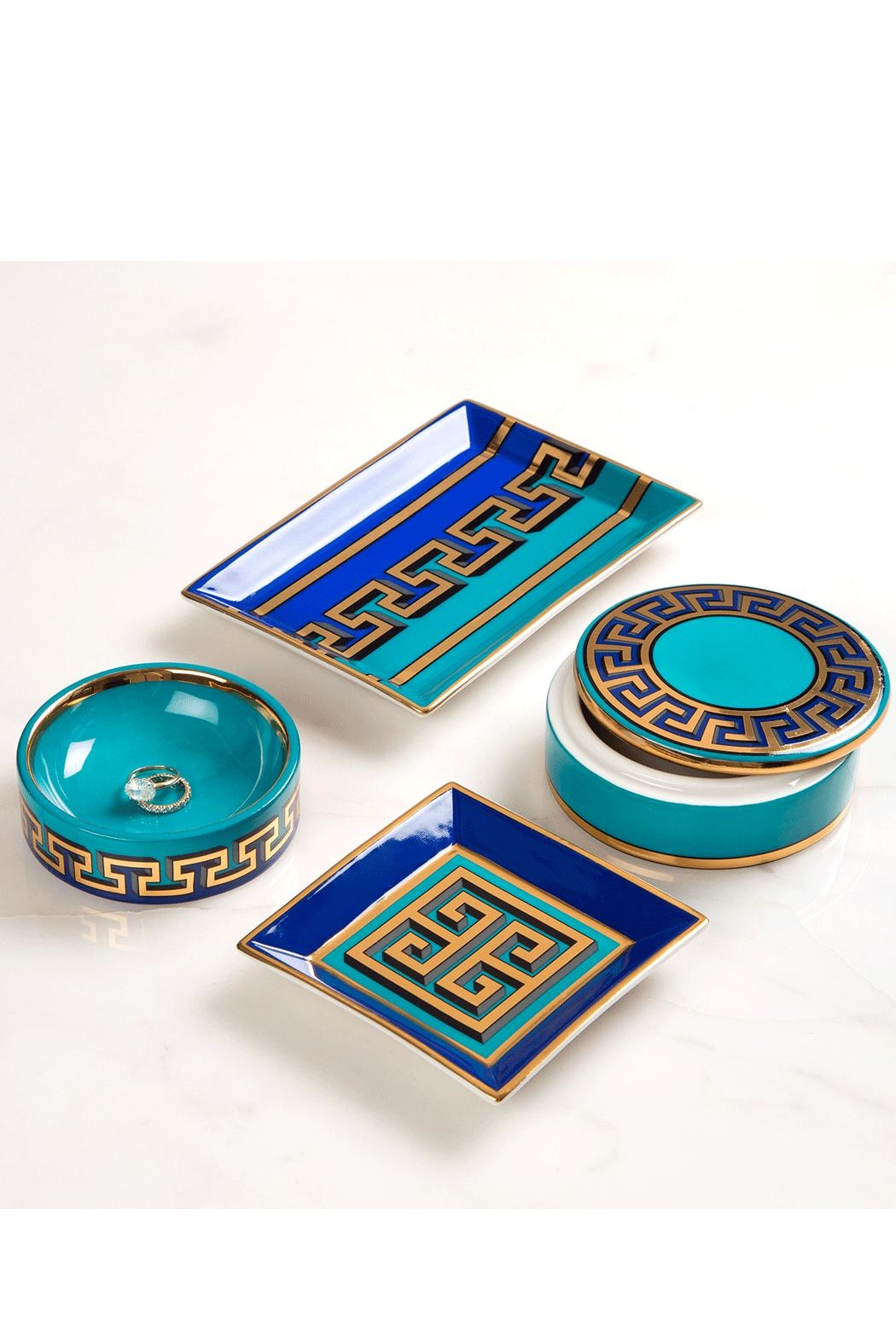 Jonathan Adler Mykonos Rectangle Tray - Side Cropped Image