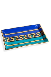 Jonathan Adler Mykonos Rectangle Tray - Front cropped