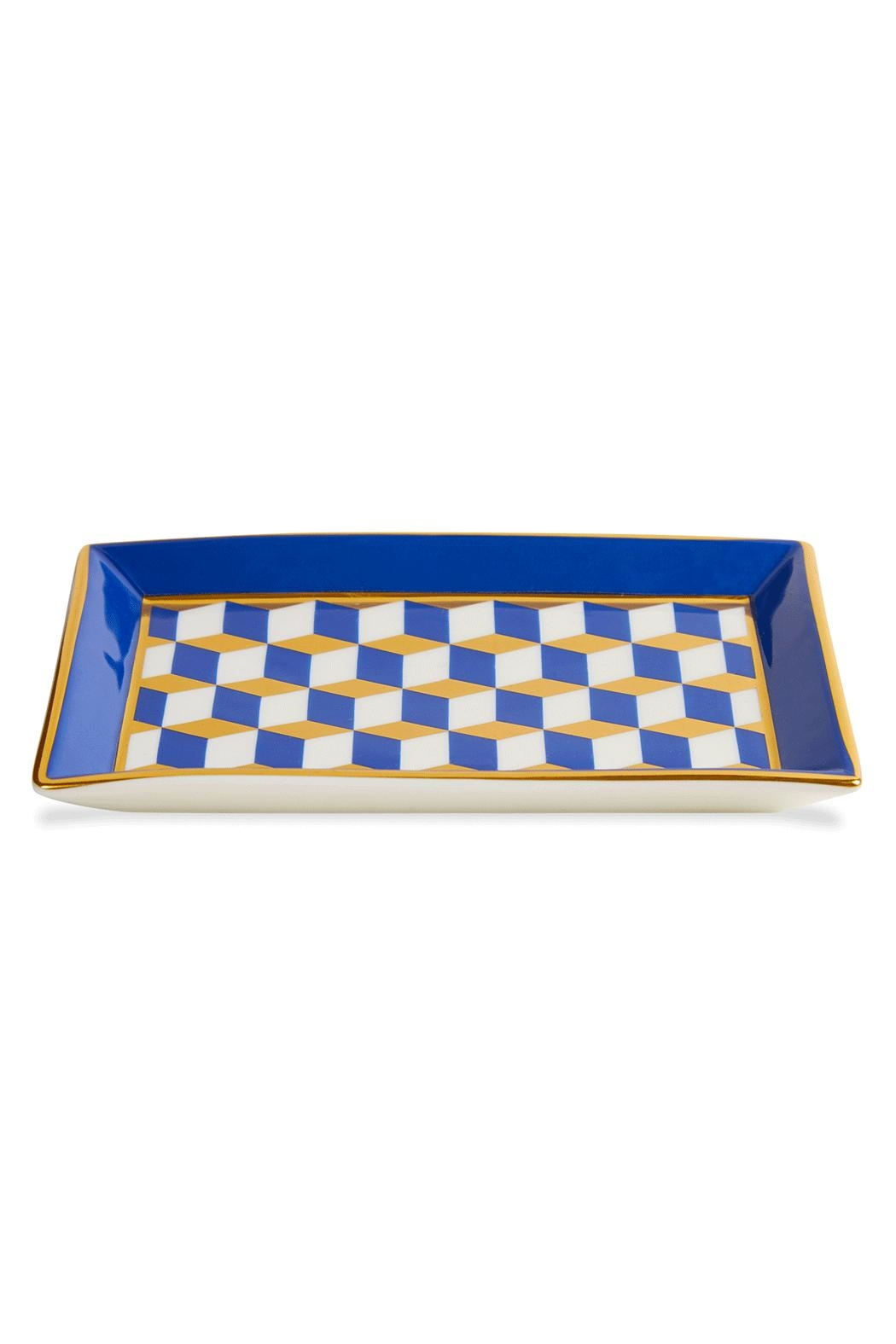 Jonathan Adler Versailles Rectangle Tray - Front Cropped Image