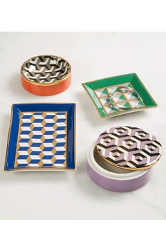 Jonathan Adler Versailles Square Tray - Alternate List Image