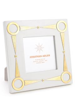 Jonathan Adler White Brass Frame - Alternate List Image