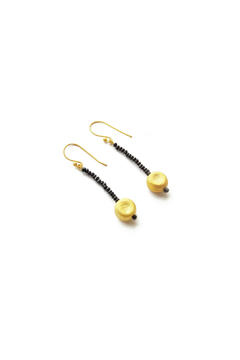 Jonesy Wood Black Onyx Earrings - Product List Image