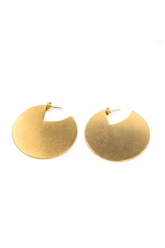 Jonesy Wood Nahid Gold Earrings - Alternate List Image