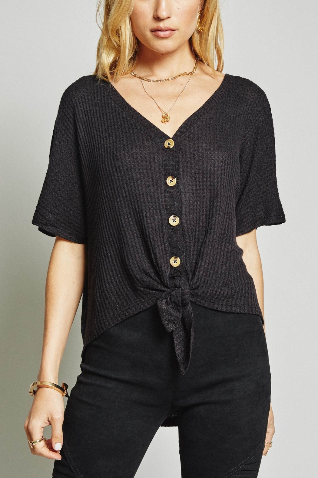 SAGE THE LABEL Joni Top - Front Cropped Image