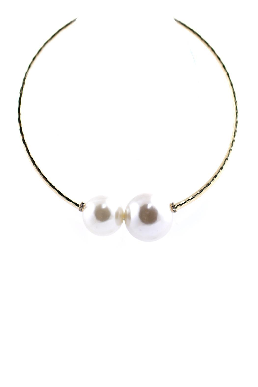 JOOLZ Big Pearl Necklace - Front Full Image
