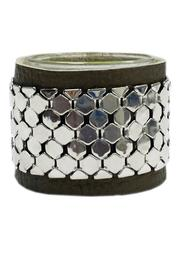 JOOLZ Leather-Silver Bracelet - Product Mini Image