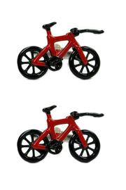 JOOLZ Red-Bicycle Cuff Links - Product Mini Image