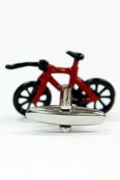 JOOLZ Red-Bicycle Cuff Links - Alternate List Image
