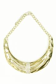 JOOLZ Rhinestone Necklace - Front cropped