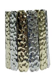 JOOLZ Hammered Stretch Bracelet - Product Mini Image
