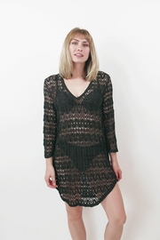 Jordan Taylor Mesh Tunic Cover-Up - Front cropped