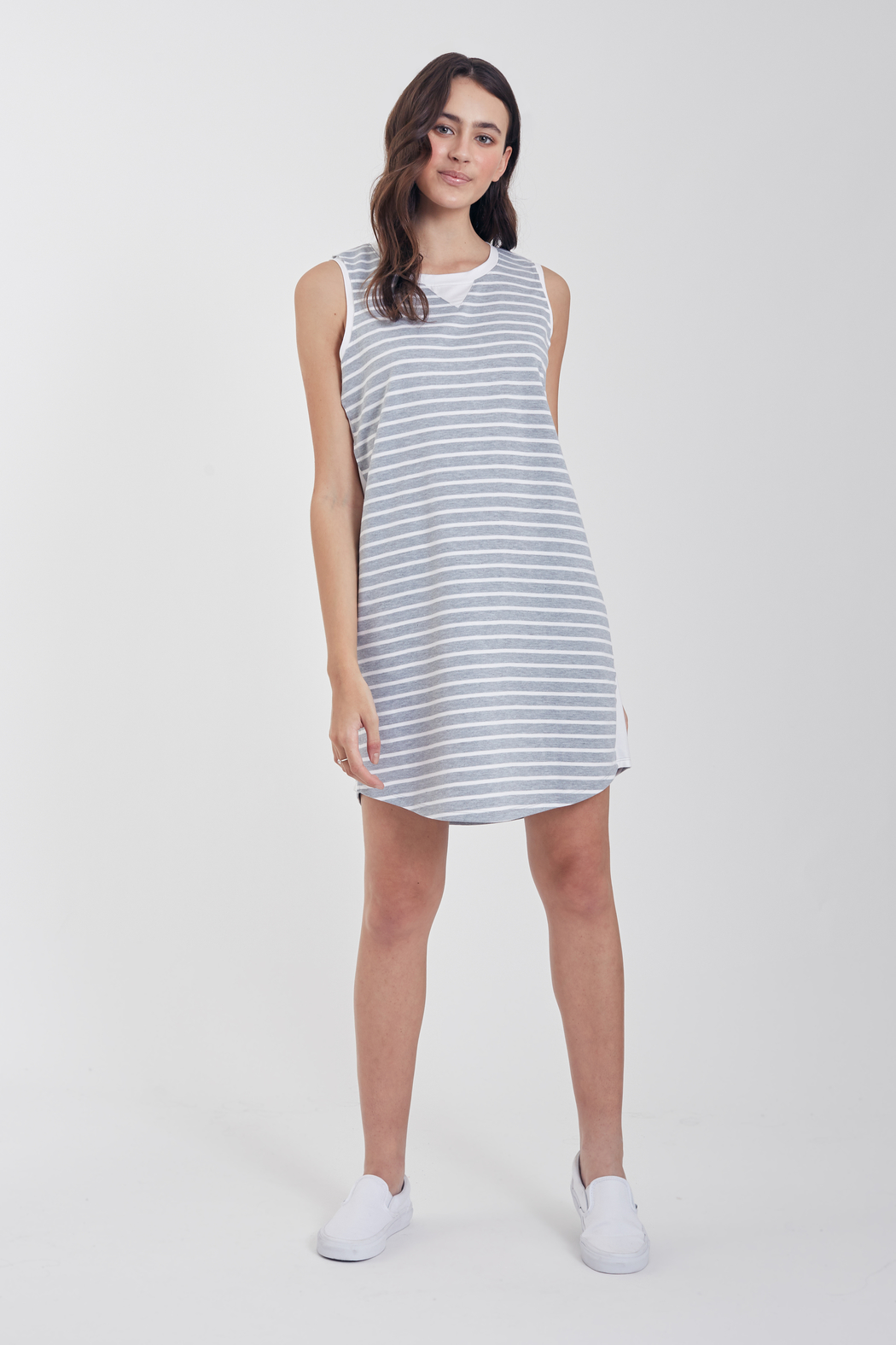 Another Love  Jordana Knit Tee Dress - Side Cropped Image