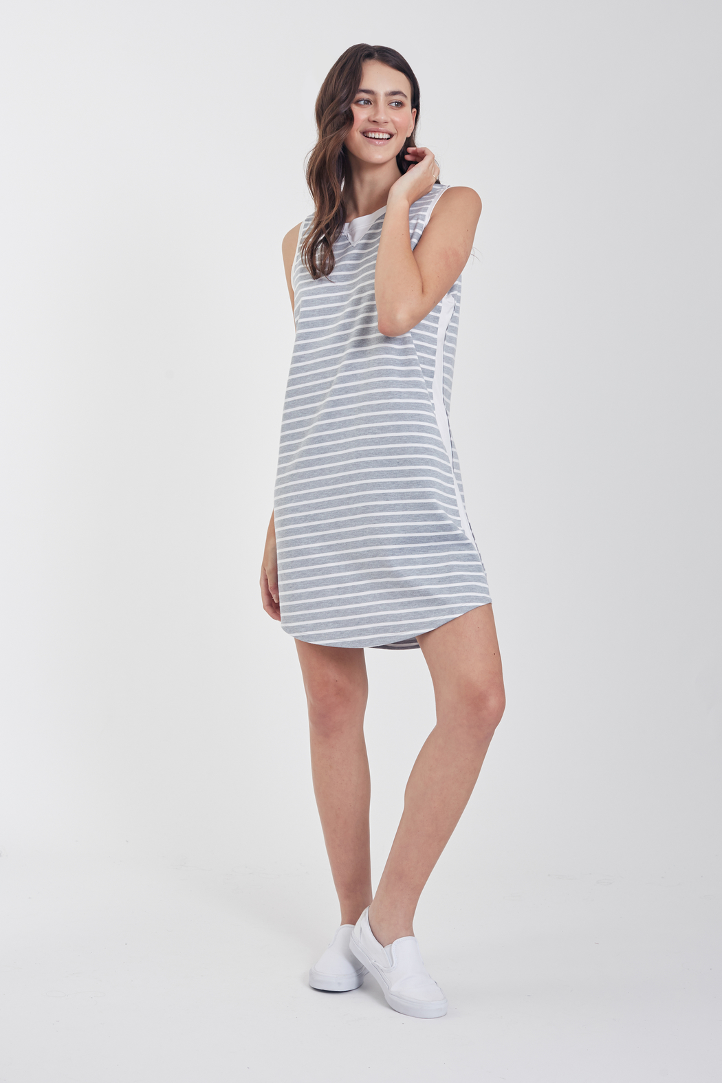 Another Love  Jordana Knit Tee Dress - Main Image