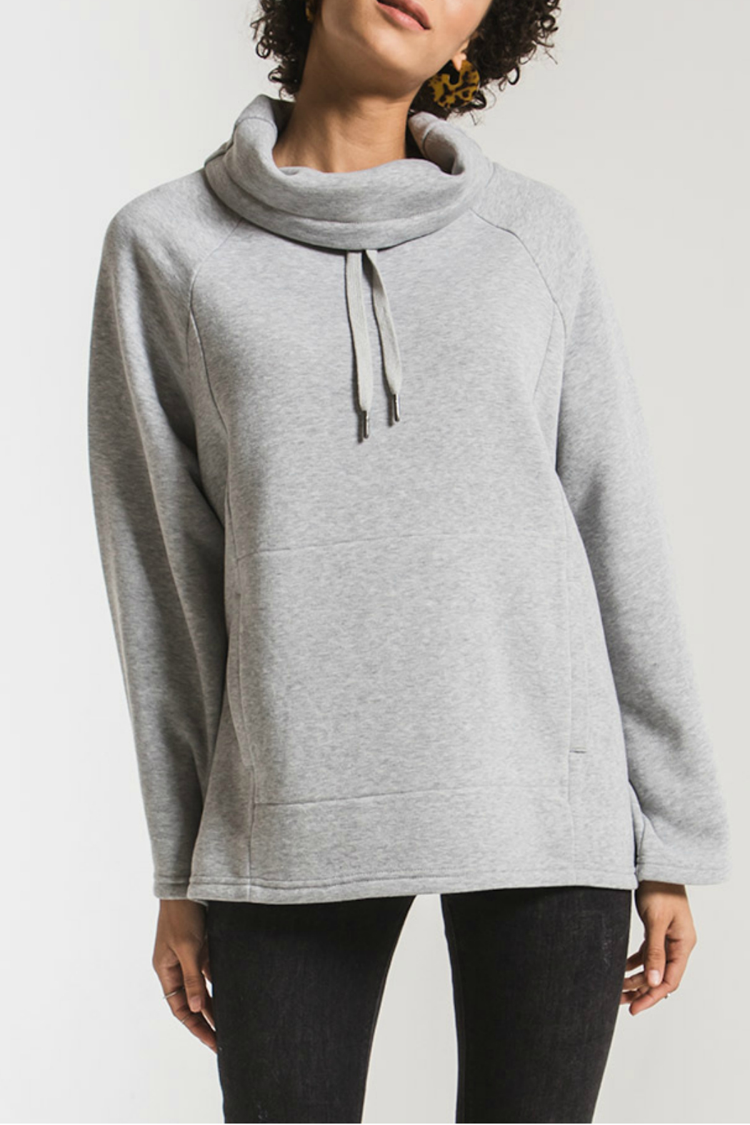 z supply Jordyn Loft Fleece Pullover - Main Image