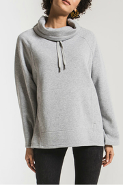 z supply Jordyn Loft Fleece Pullover - Front cropped