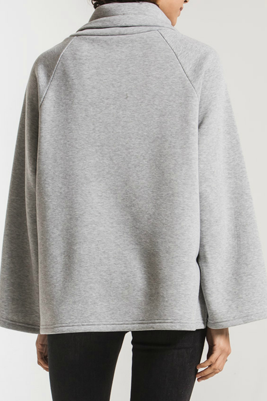 z supply Jordyn Loft Fleece Pullover - Side Cropped Image