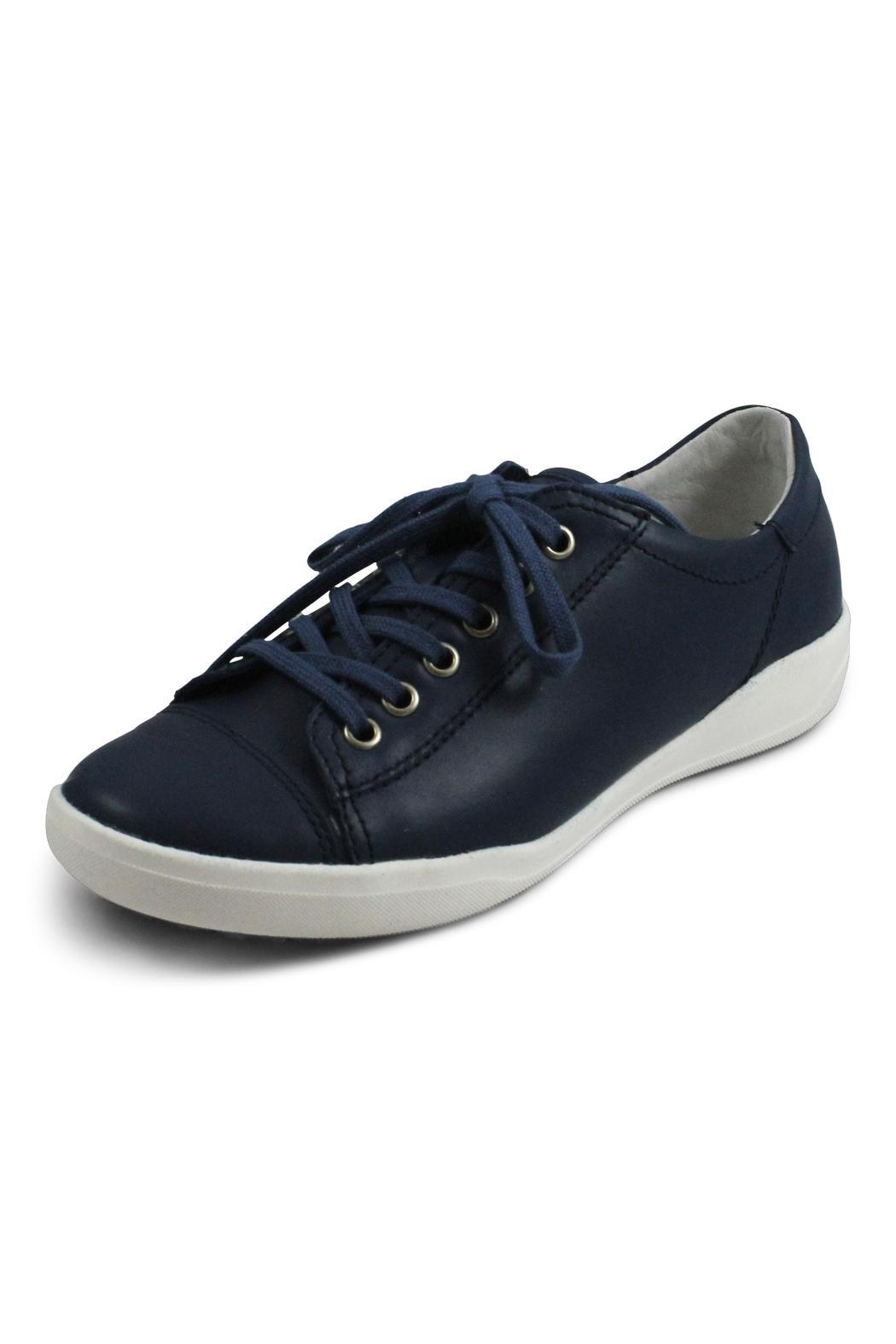 Josef Seibel Blue Lace Up - Front Full Image
