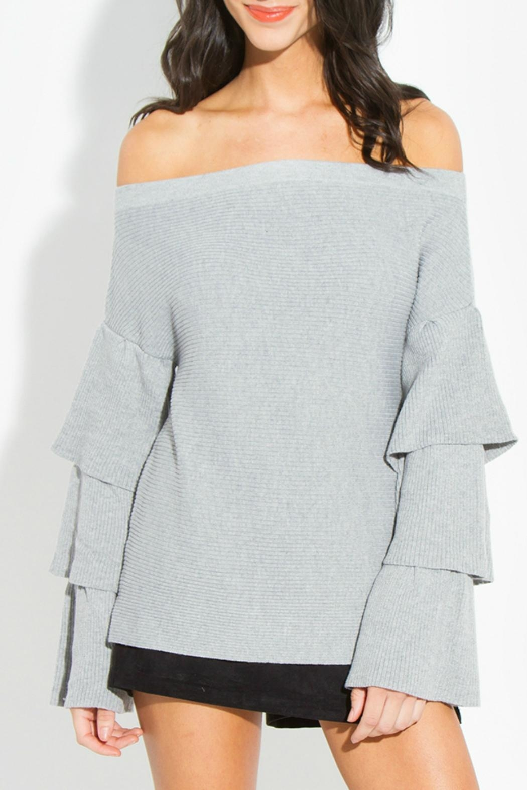 fc9d1e0521a62 Sugar Lips Joselle Off-The-Shoulder Sweater from Atlanta by Natasha ...