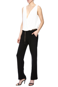 Shoptiques Product: Belted Jumpsuit