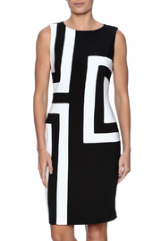 Joseph Ribkoff Colorblock Dress - Product Mini Image