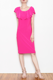 Joseph Ribkoff Cascading Ruffle Dress - Product Mini Image