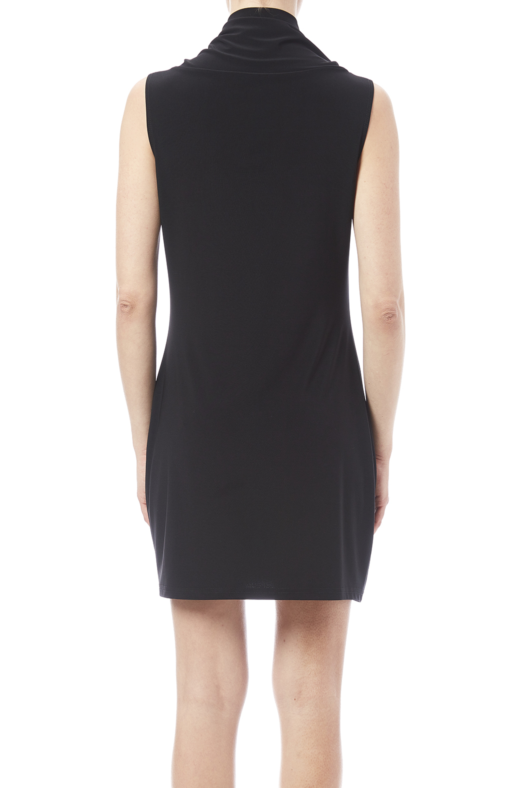 Joseph Ribkoff Cowl Sleeveless Tunic - Back Cropped Image