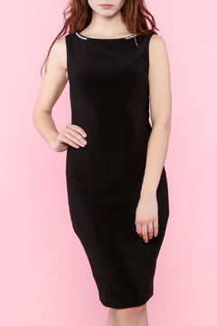 Shoptiques Product: Black Sleeveless Knee Dress