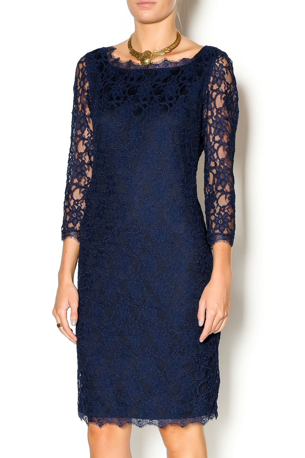 Joseph Ribkoff Lovely Lace Dress from Florida by J. Ashley — Shoptiques